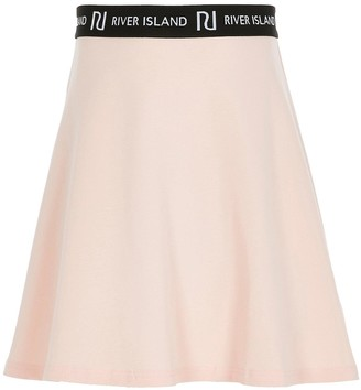 River Island Girls Jersey Flippy Skirt -Pink