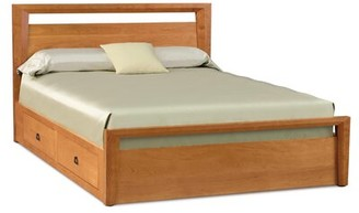Copeland Furniture Mansfield Storage Platform Bed Size: King, Color: Natural Cherry