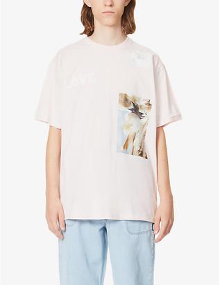 Burberry Statues oversized cotton-jersey T-shirt
