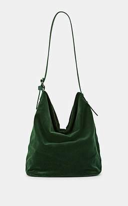FiveSeventyFive Women's Velvet Hobo Bag - Green