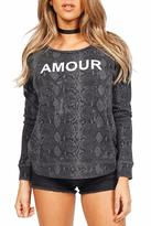 Sundry Amour Raglan Sweater