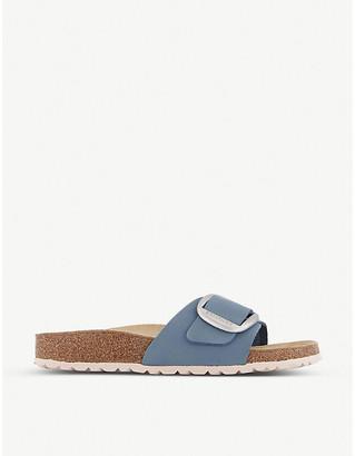 Birkenstock Madrid buckled-embellished vegan-leather sandals