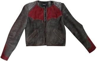 Isabel Marant Grey Suede Leather jackets