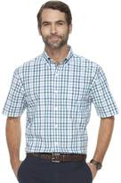 Croft & Barrow Men's Classic-Fit Patterned End-on-End Stretch Button-Down Shirt