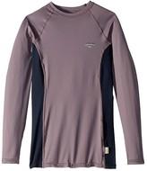 O'Neill Premium Long Sleeve Rashguard (Dusk/Abyss/Dusk) Women's Swimwear