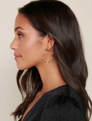 Ever New Talia Delicate Hoop Earrings