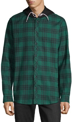Sovereign Code Plaid Hooded Shirt