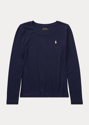 Ralph Lauren Cotton-Blend Long-Sleeve Tee
