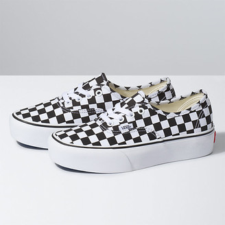 Vans Checkerboard Authentic Platform 2.0