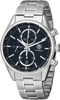 Tag Heuer Men's CAR2110.BA0720 Carrera Dial Chronograph Steel Watch