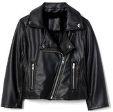 Gap Faux leather moto jacket