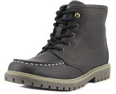 Nautica Cliffview Youth Round Toe Synthetic Brown Work Boot.