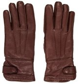 Barney's Textured Leather Gloves