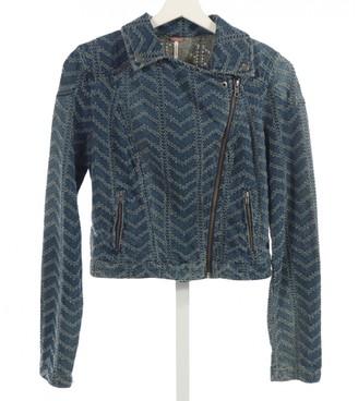 Free People Blue Denim - Jeans Jackets