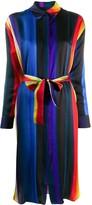 Paul Smith striped satin shirt dress