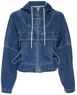 Hudson Denim Hooded Jacket