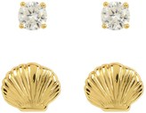 Juicy Couture Seashell Expressions Stud Earring Set