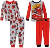 Disney Hometown Heroes Cotton 4 Piece Pajamas, Toddlers
