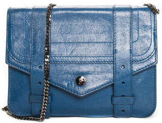 Proenza Schouler Blue Leather Ps1 Crossbody