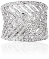 Effy Jewelry Effy Geo 14K White Gold Diamond Fashion Ring, 0.97 TCW