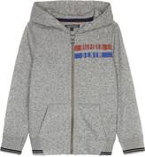 Tommy Hilfiger Stripe trim cotton hoody 4-16 years