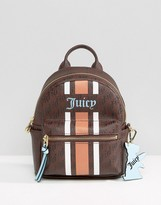 Juicy Couture Mini Backpack With Stripe Detail