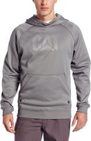 Caterpillar Men's Shield Hooded Sweatshirt, Grey