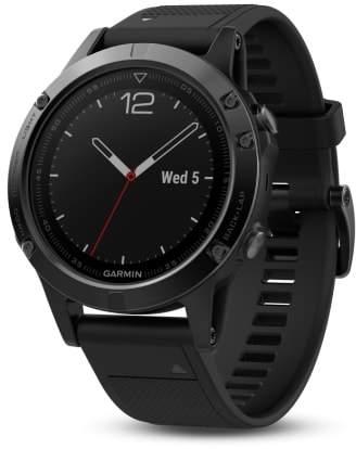 Garmin fenix(R) 5 Sapphire Premium Multisport GPS Watch, 47mm