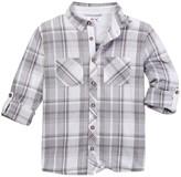 Dex Long Sleeve Plaid Button Shirt (Little Boys & Big Boys)