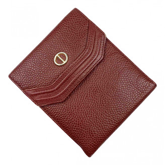 Christian Dior Red Leather Small bags, wallets & cases