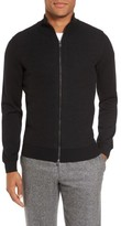BOSS Men's Bacco Full Zip Wool Sweater Jacket