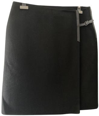 Hermes Black Cashmere Skirts