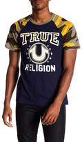 True Religion High School Raglan Sleeve Tee