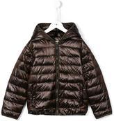 MonnaLisa padded hooded jacket