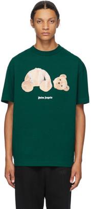 Palm Angels Green Bear T-Shirt