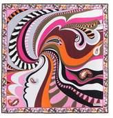 Emilio Pucci Printed silk scarf