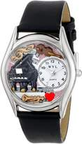 Whimsical Watches Women's S0640014 Music Teacher Black Leather Watch