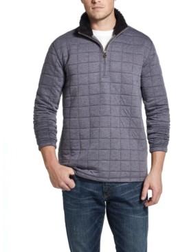 Weatherproof Vintage Men's Quilted Quarter-Zip Pullover
