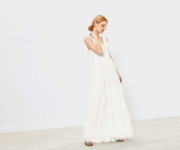Oasis Embroidered Wedding Dress