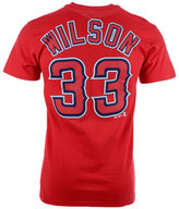 Majestic Men's C.J. Wilson Los Angeles Angels of Anaheim Official Player T-Shirt