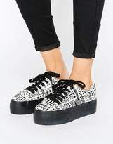 Sixty Seven Sixtyseven Flatform Laceup Trainer