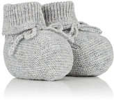Bonpoint Cashmere Booties-GREY