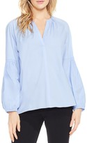 Vince Camuto Peasant Sleeve V-Neck Blouse