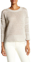 Brochu Walker Porter Linen Blend Pullover Sweater