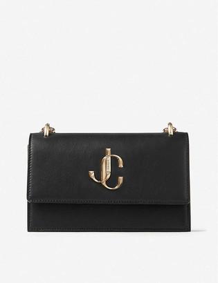 Jimmy Choo Bohemia leather clutch bag
