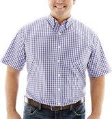 Izod Short-Sleeve Woven Shirt-Big & Tall