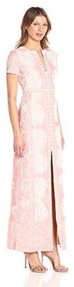 BCBGMAXAZRIA Azria Women's Cailean Knit Evening Gown