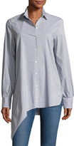 IRO Uneal Striped Button-Front Oversized Oxford Shirt