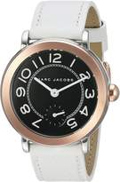 Marc Jacobs Women's Riley Leather Watch - MJ1515