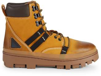Diesel Leather Hiking Boots